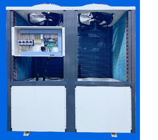 独特的热泵机组构造,超静音,更节能