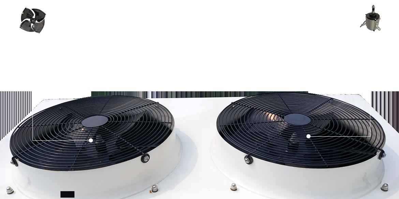锯齿形轴流风机超静音,提高蒸发器换热速度