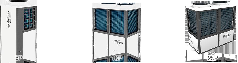利普曼空气源泳池热泵恒温机组参数配置