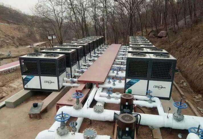 石家庄旅游小镇酒店空气凯发国际娱乐k8冷暖热水项目完美竣工