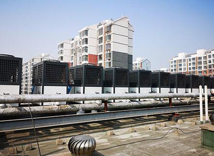 唐山市格林豪泰酒店空气凯发国际娱乐k8冷暖及热水工程