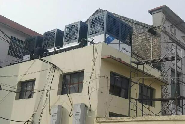 山西高平3000㎡小学+幼儿园空气能采暖工程