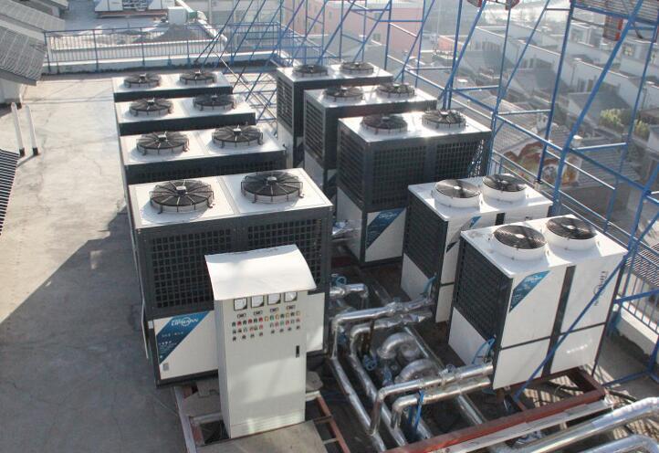 酒店空气凯发国际娱乐k8冷暖及热水项目稳定运行两年,效果突出!