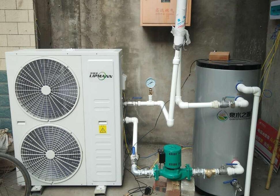 洛阳个人住宅空气能采暖工程