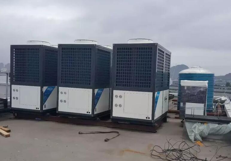自建办公楼空气源冷暖及热水工程