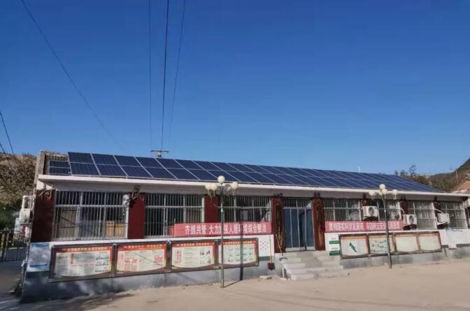 河北青龙县村委会办公室空气能冷暖工程