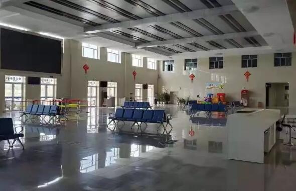 甘肃张掖市客运站5000㎡采暖工程